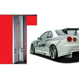 VS Style Seitenschweller Skyline R34 GTR