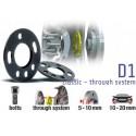 POWERTECH Distanzscheiben D1 10mm Subaru Impreza WRX STI 93-14