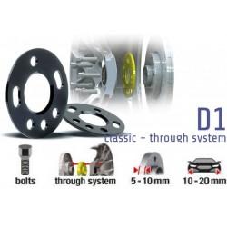 POWERTECH Distanzscheiben D1 10mm Subaru Impreza WRX STI 03-05