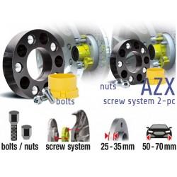 POWERTECH Distanzscheiben AZX 50mm Subaru Impreza WRX STI 03-05