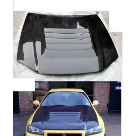 Carbon Motorhaube Nismo Style GTR R34