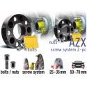 POWERTECH Distanzscheiben AZX 50mm Nissan GT-R R35