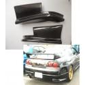 Carbon Heckstangen Diffusor Skyline R33 GTS