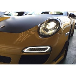 LED Frontlicht + Blinker Smoke Porsche 997.2 '09