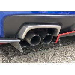 Auspuff Blenden Subaru Impreza STI 2014-