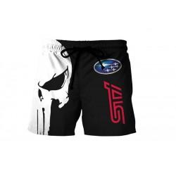 Subaru STI Skrull Shorts