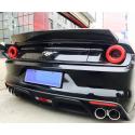 Heckspoiler Carbon Ford Mustang 2014-