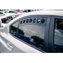 Rear Window Vents für Subaru Impreza WRX STI 2015-2018