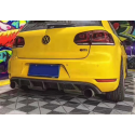 Carbon Heckdiffusor VW GOLF 6 GTI