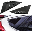 Side Window Louvers ABS Ford Focus 15-17