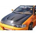 Carbon Motorhaube C Style Honda Civic 1992-1995