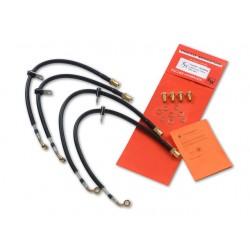 Fischer Stahlflexbremsleitungen Mini Cooper S R53 01-03