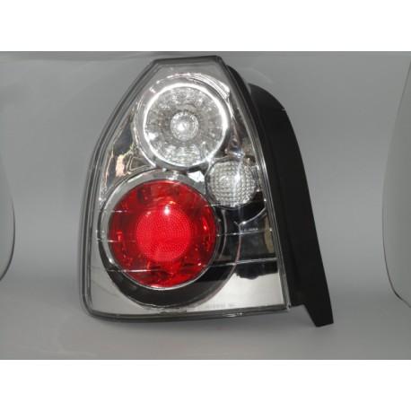 Honda Civic Jg. 96-01 Heckleuchten Klarglas chrom