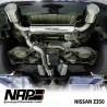 NAP Klappenauspuff-Anlage Nissan 350Z + Roadster