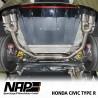 NAP Klappenauspuff-Anlage Honda Civic IX 2.0 i-VTEC (Type R)