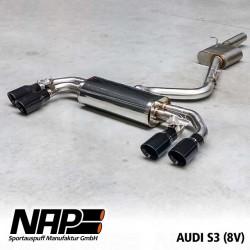 NAP Klappenanlage-Anlage Audi S3 Limousine