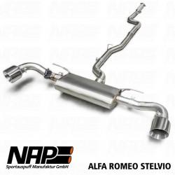 NAP Klappenauspuff-Anlage Alfa Romeo Stelvio