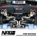 NAP Klappenauspuff-Anlage Ford Mustang 2015 5.0 V8