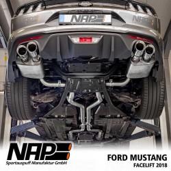 NAP Klappenauspuff-Anlage Ford Mustang 2018 GT 5.0 V8