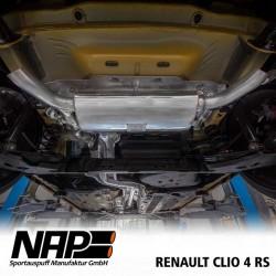 NAP Klappenauspuff-Anlage Renault Clio 4 R.S.