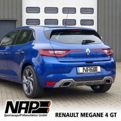 NAP Klappenauspuff-Anlage Renault Mégane 4 GT +Grandtour