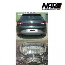 NAP Klappenauspuff-Anlage Seat Leon III Cupra (5F)