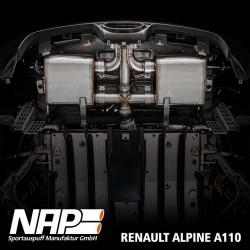 NAP Klappenauspuff-Anlage Renault Alpine A110 (2017)