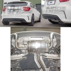 NAP Klappenauspuff-Anlage Mercedes A Klasse W176