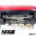 NAP Klappenauspuff-Anlage Audi S3 (8V facelift 2016) Sportback
