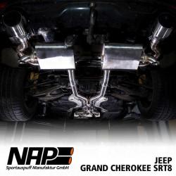 NAP Klappenauspuff-Anlage Jeep Grand Cherokee SRT8