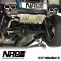 NAP Klappenauspuff-Anlage Jeep Wrangler JK (5-Türer)