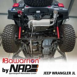 NAP Klappenauspuff-Anlage Jeep Wrangler JL