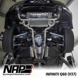 NAP Klappenauspuff-Anlage Infiniti Q60S (V37)