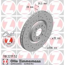 Zimmermann Sportbremsscheiben gelocht Alfa Romeo Giulietta QV