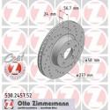 Zimmermann Sportbremsscheiben gelocht Subaru Impreza 2.0 GT (277mm) VA