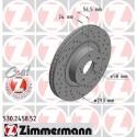 Zimmermann Sportbremsscheiben gelocht Subaru Impreza 2.0 GT (293mm) VA