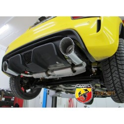 Maxspeed R1 Auspuffanlage ESD Fiat 500 Abarth