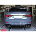 Carbon Heckdiffusor Audi A3 / S3 2017-2019