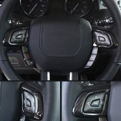 Carbon Lenkradtasten-Abdeckungen Range Rover Evoque 12-17