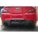 Carbon Heckdiffusor Hyundai Genesis Coupe 09-12