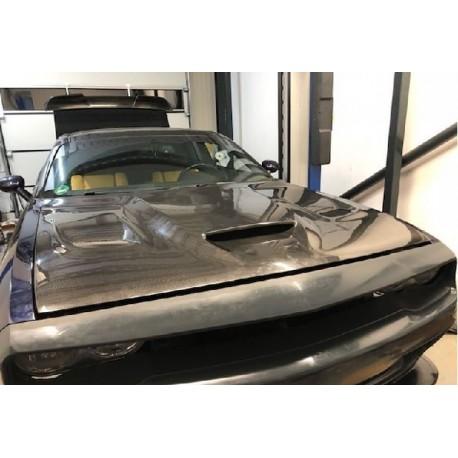 Carbon Motorhaube Dodge Challenger 08-17