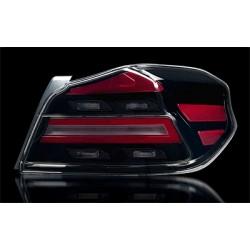 LED Rückleuchten Type-R Schwarz/Smoke Subaru WRX STI 14+