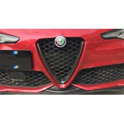 Kühlergrill-Einsatz Carbon Alfa Romeo Giulia Sport 2017