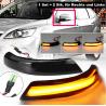 LED Spiegel/Seitenblinker schwarz dynamisch Ford Focus MK2