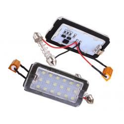 LED Kennzeichenbeleuchtung Fiat 500 / Abarth