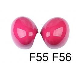 Spiegelkappen Pink Mini Cooper F55/F56