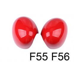 Spiegelkappen Rot Mini Cooper F55/F56