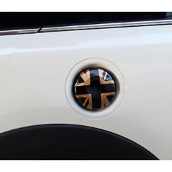 Union Jack Tankdeckel Schwarz/Gold Mini Cooper F54/F55/F56