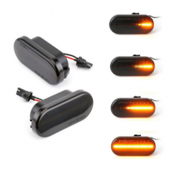 LED Seitenblinker sequentiell schwarz smoke VW Golf MK4