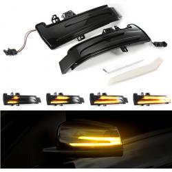 LED Seitenblinker sequentiell schwarz smoke Mercedes Benz A-Klasse